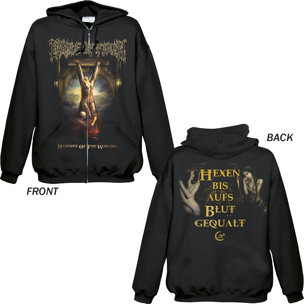 Cradle Of Filth - Hexen (Zipped Hoodie)