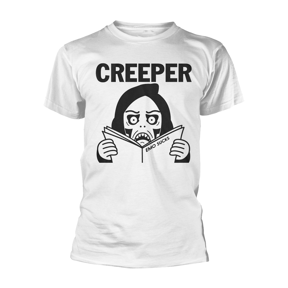 Creeper - EMO SUX (White)