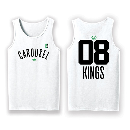 Carousel Kings - Carousel Kush Tank Top (White)