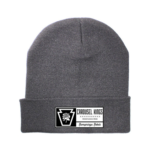 Carousel Kings - Rose Beanie (Grey)