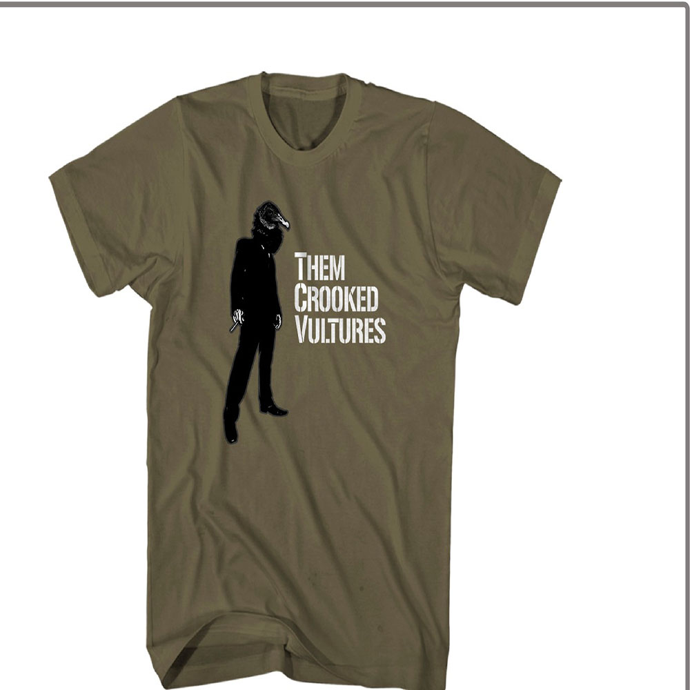 Them Crooked Vultures - Smoke Vulture (Military Green)