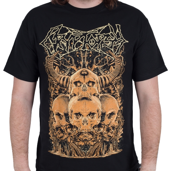 Cryptopsy - Four Skulls (Black)