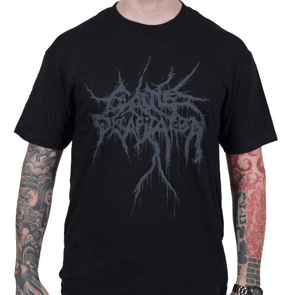 Cattle Decapitation - Black on Black (Black)
