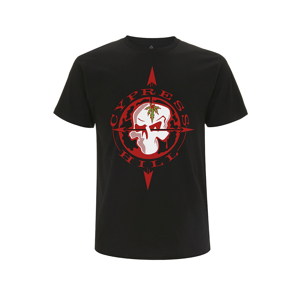 Cypress Hill - Skull Compass (Black)