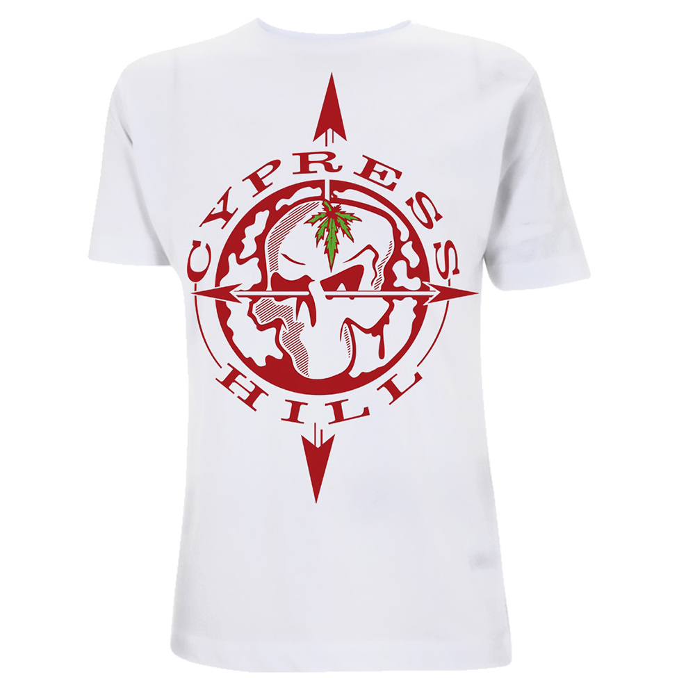 Cypress Hill - Skull Compass (White)