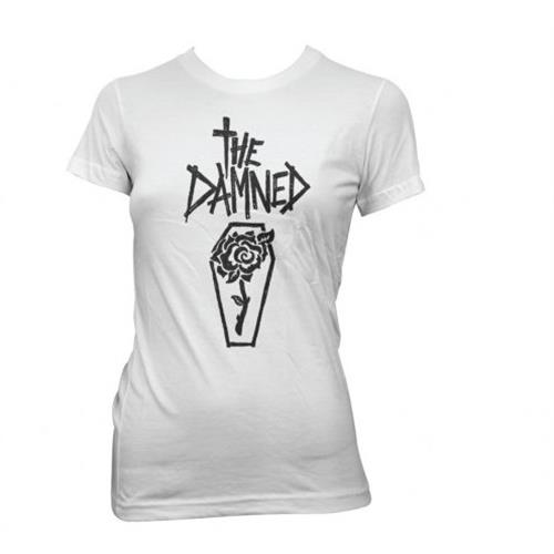 The Damned - Rose Coffin (White) (Women's)