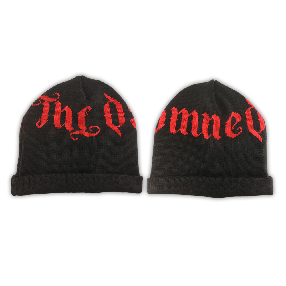 The Damned - Knitted Beanie Hat