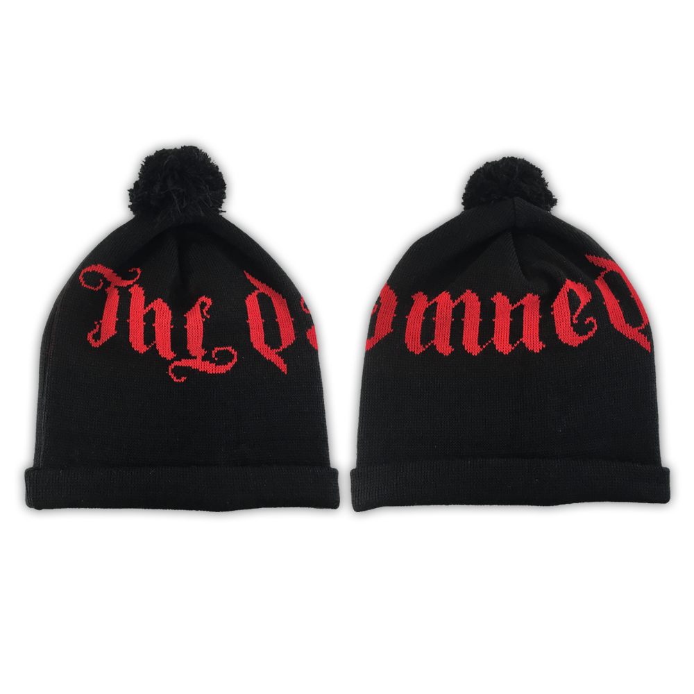 The Damned - Knitted Bobble Hat