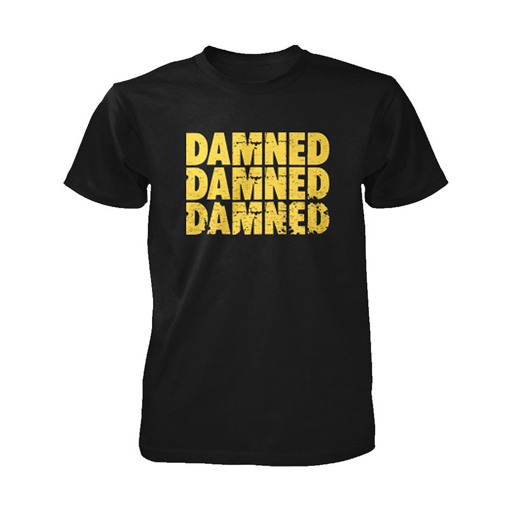 The Damned - Damned Damned Damned (Black)