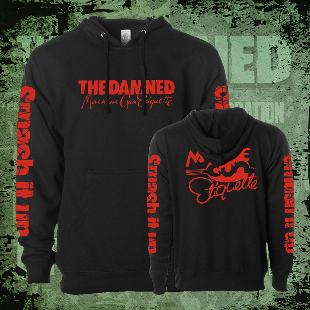 The Damned - MGE Smash It Up  (Hoodie)