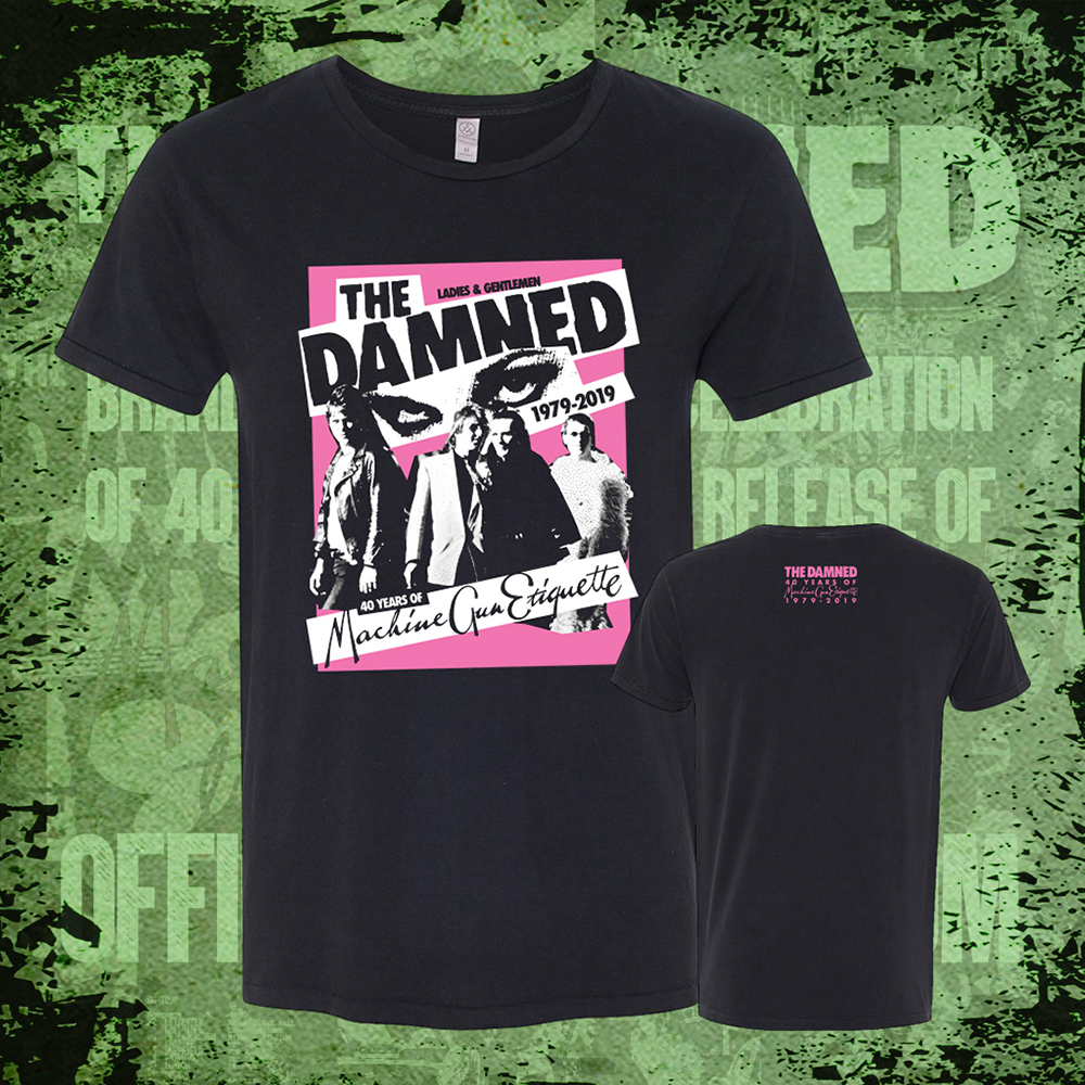 The Damned - MGE Poster (Black)