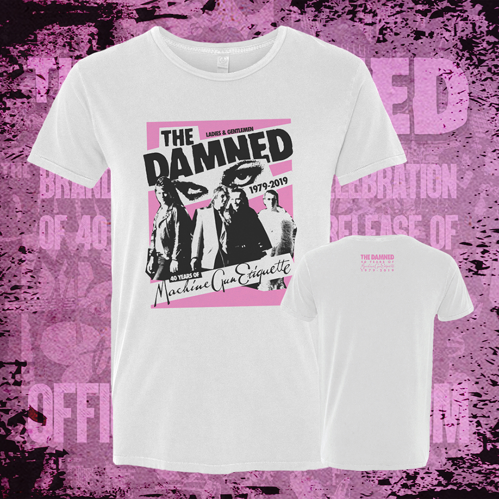The Damned - MGE Poster (White)