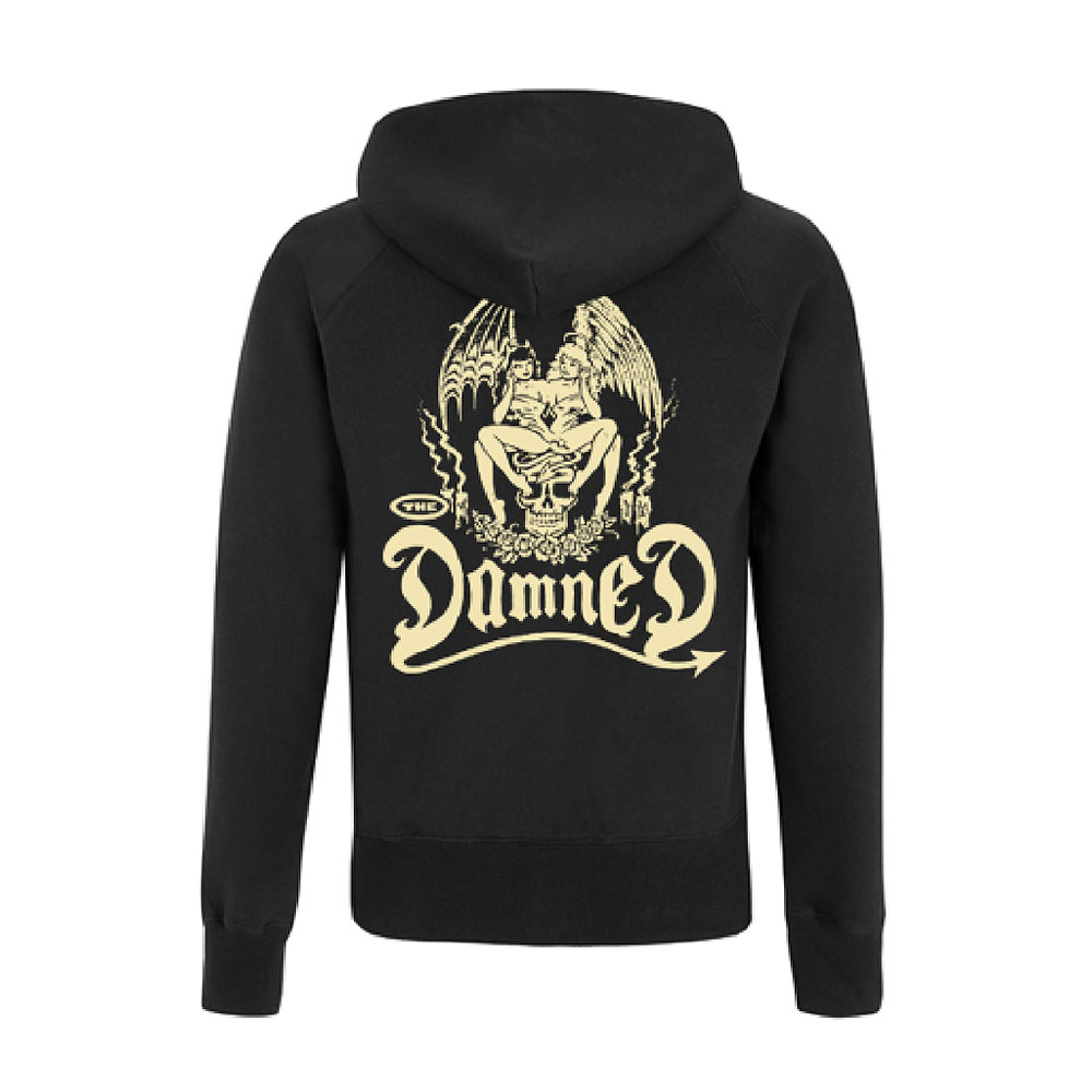 The Damned - Devil Twins (Black Zipped Hoodie)