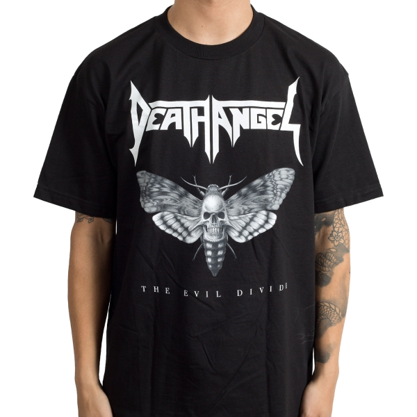 Death Angel - Evil Divide Moth (Black)