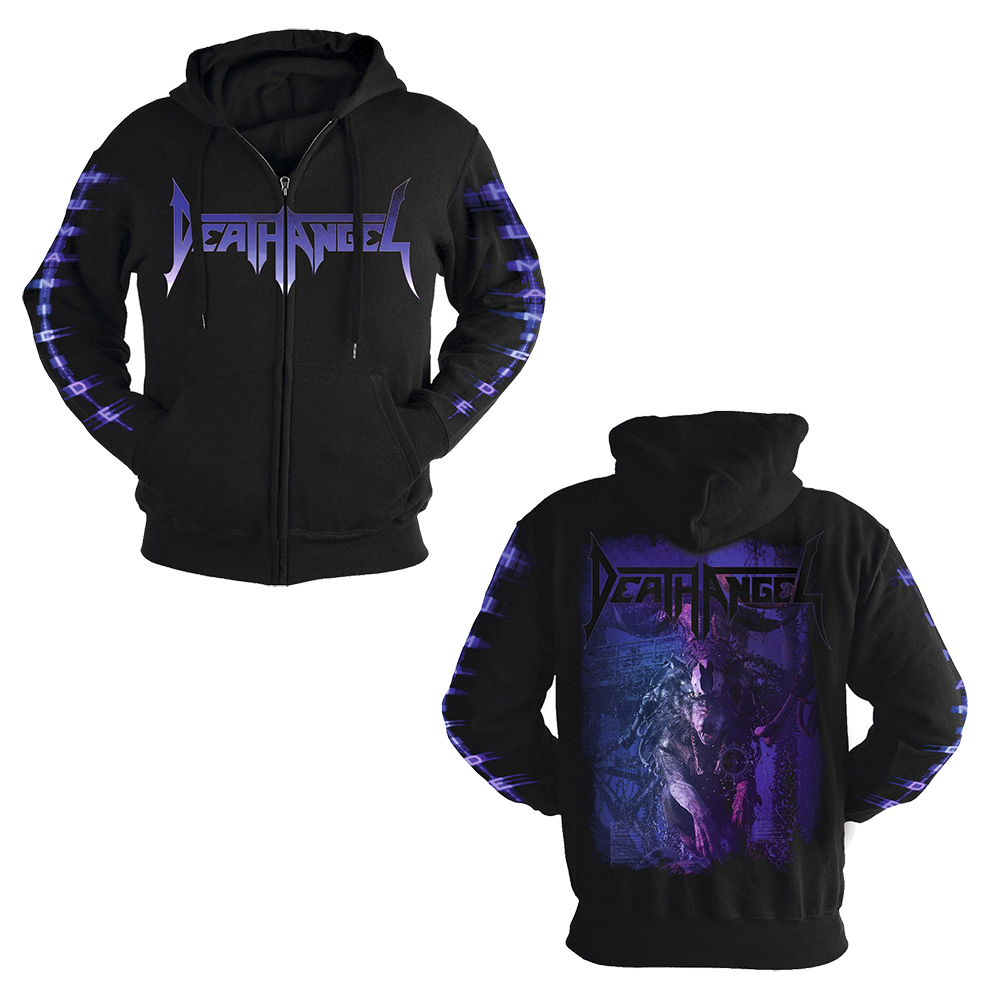 Death Angel - Humanicide (Zip Hoodie)
