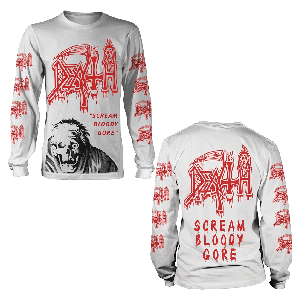 Death - Scream Bloody Gore (Jumbo Print) (Longsleeve)