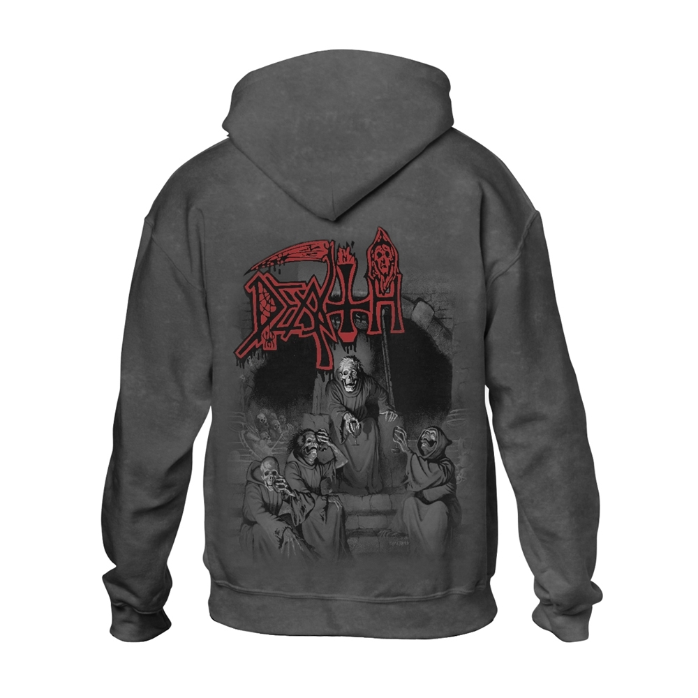 Death - Scream Bloody Gore (Vintage Wash Hoodie)