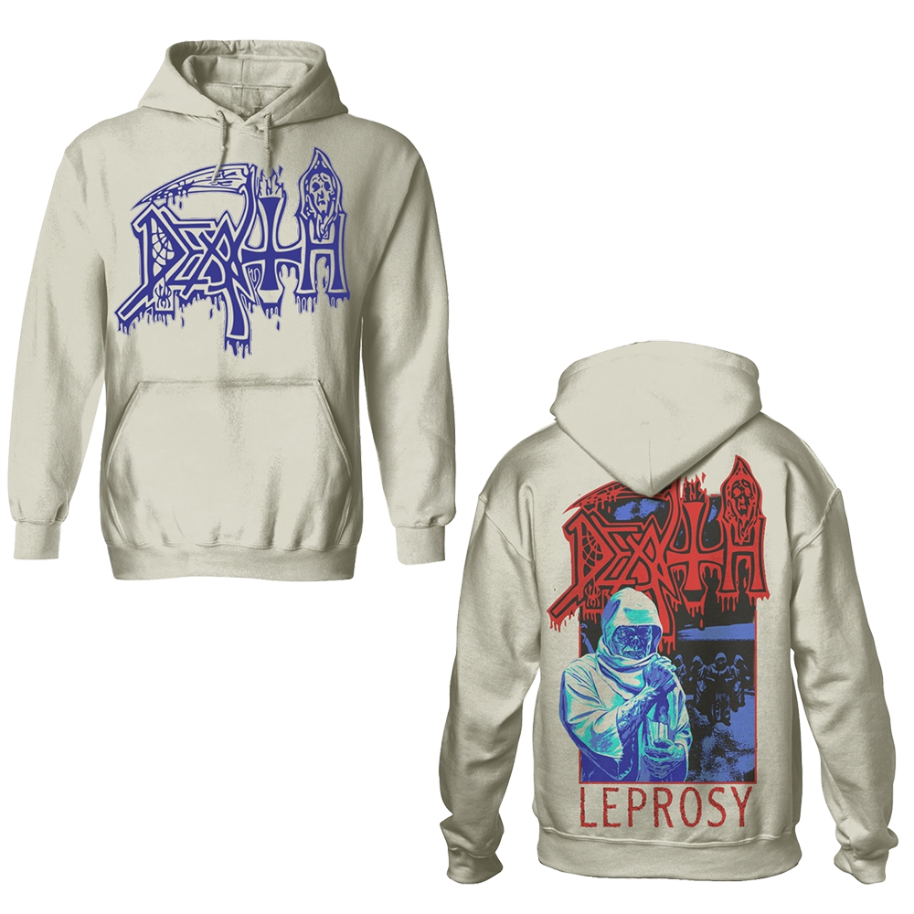 Death - Leprosy (Off White Hoodie)