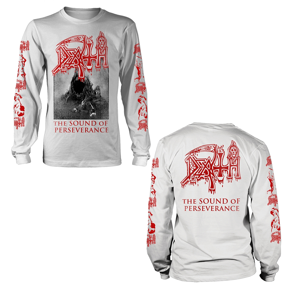 Death - The Sound Of Perseverance (White Longsleeve)