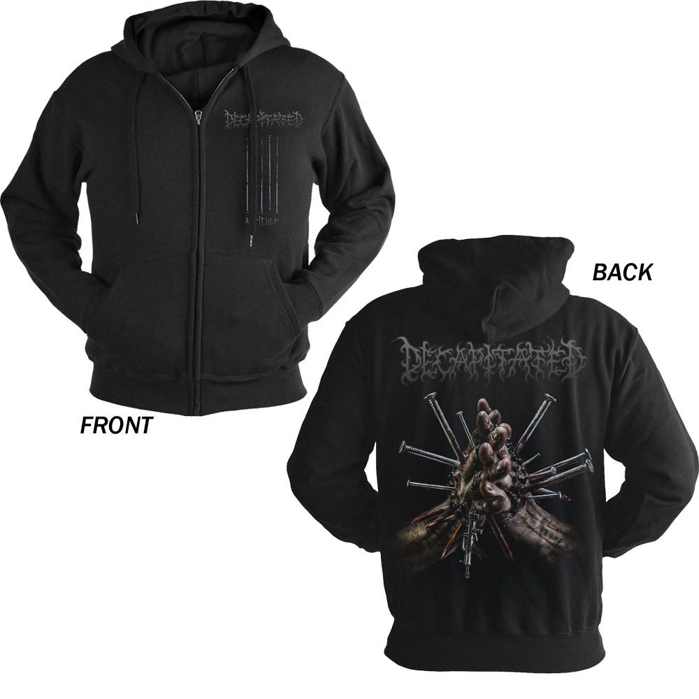 Decapitated - Anticult (Zip Hoodie)