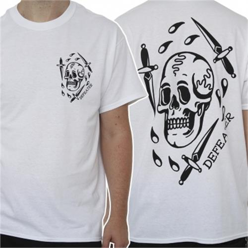 Defeater - Skull Dagger (White)
