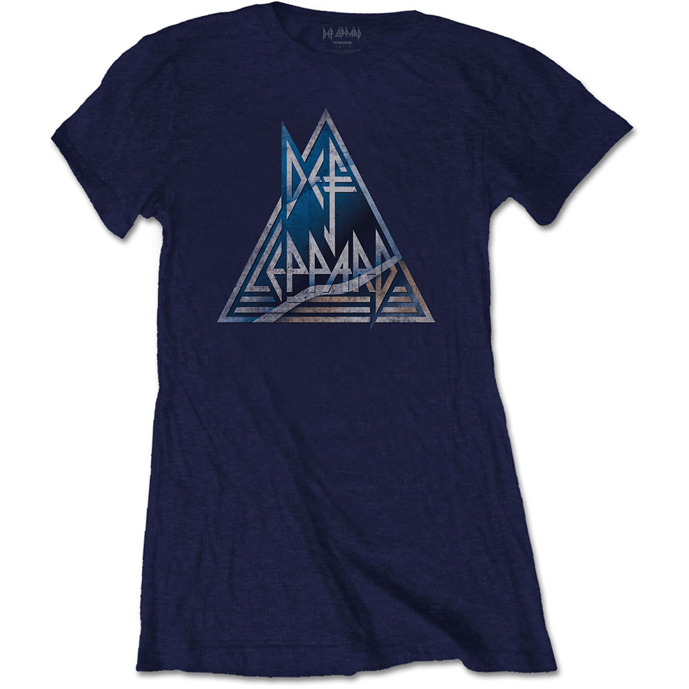 Def Leppard - Triangle Logo (Ladies)