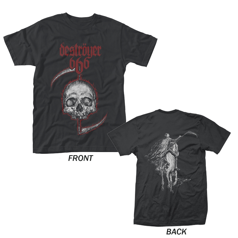 Destroyer 666 - Skull (Black)