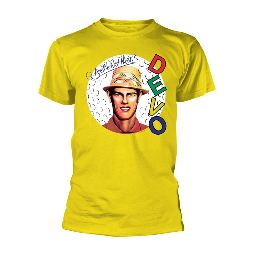 Devo - Are We Not Men? (Yellow)