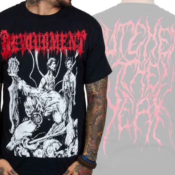 Devourment - Butcher The Weak (Black)
