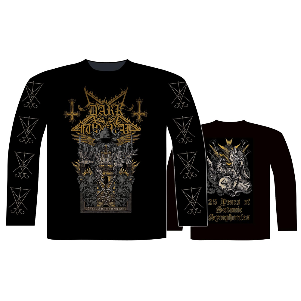 Dark Funeral - 25 Years Of Satanic Symphonies (Long Sleeve T-Shirt)