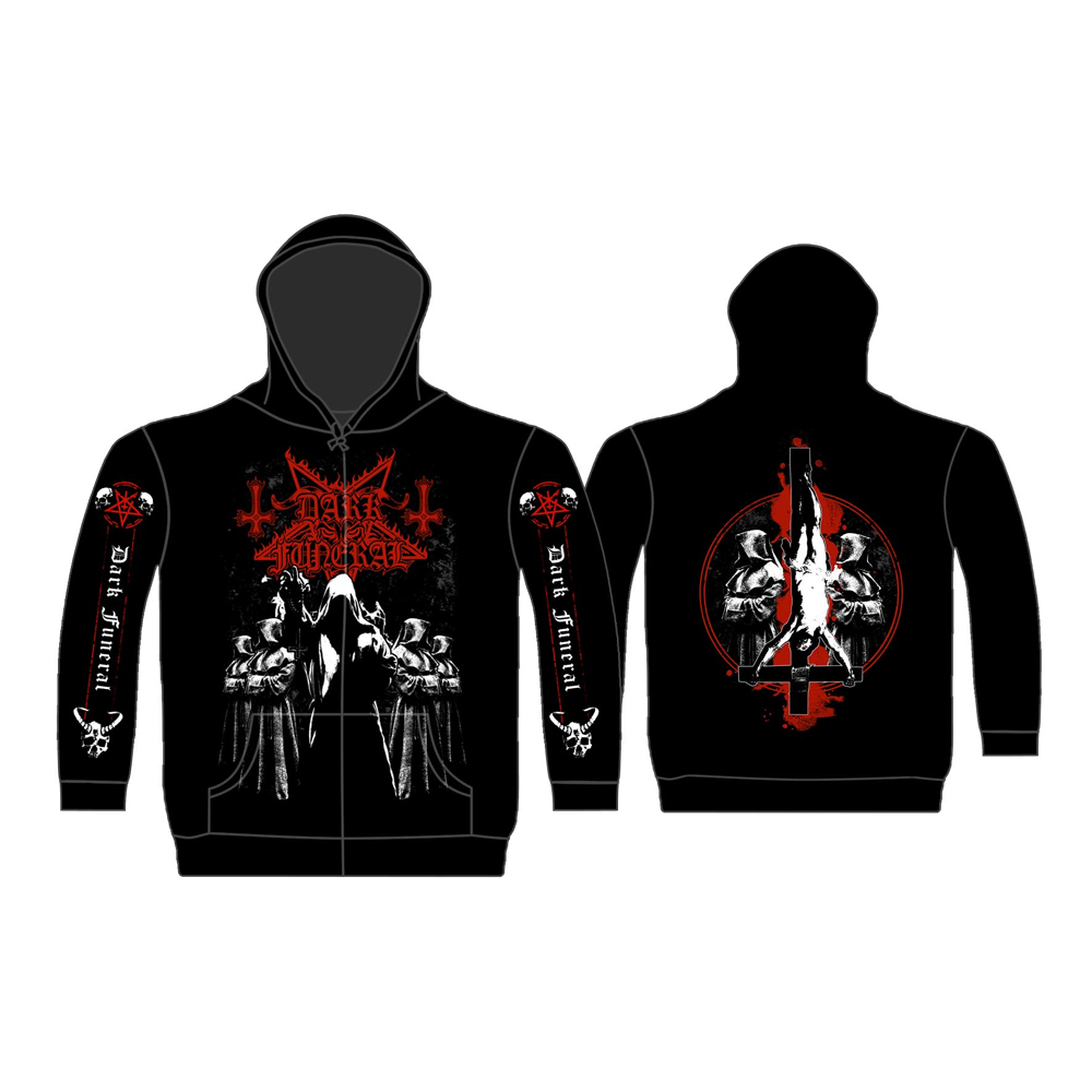 Dark Funeral - Shadow Monks (Zip Hoodie)