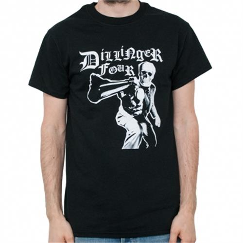 Dillinger Four - Gun (Black)