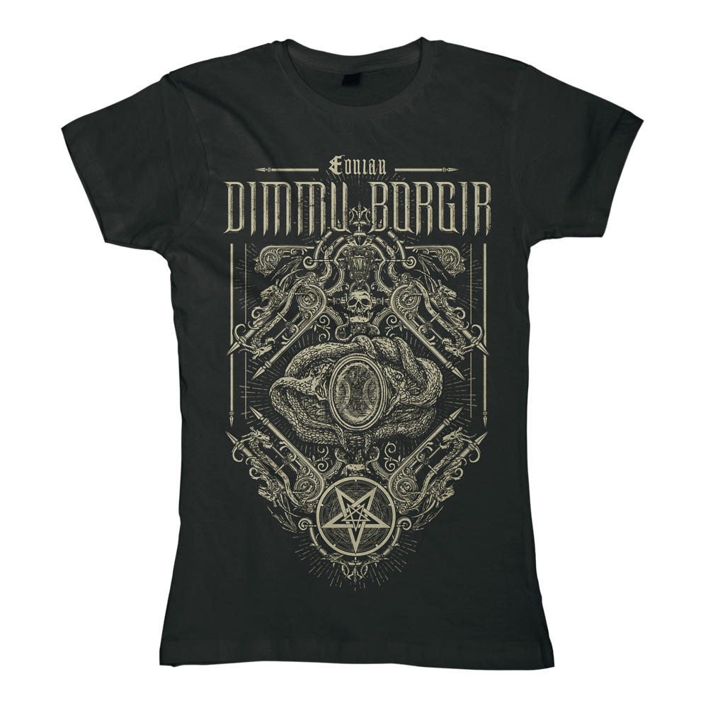 Dimmu Borgir - Eonian Snakes Ornament (Ladies)