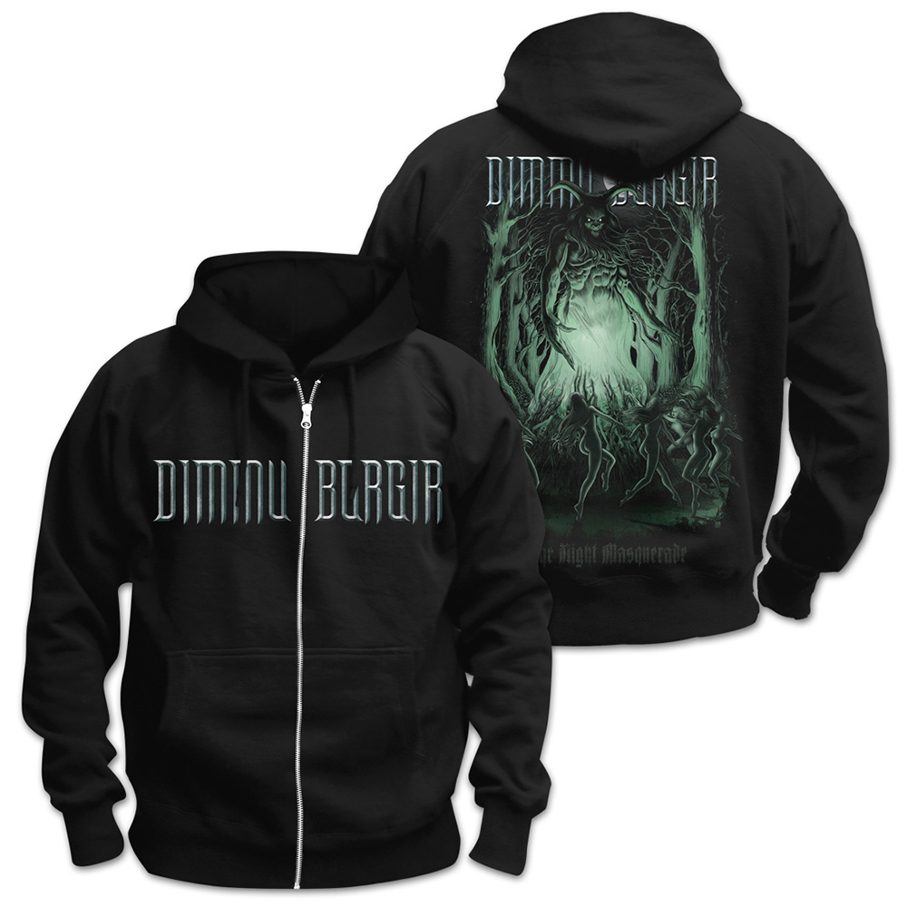 Dimmu Borgir - The Night Masquerade (Zip Hoodie)