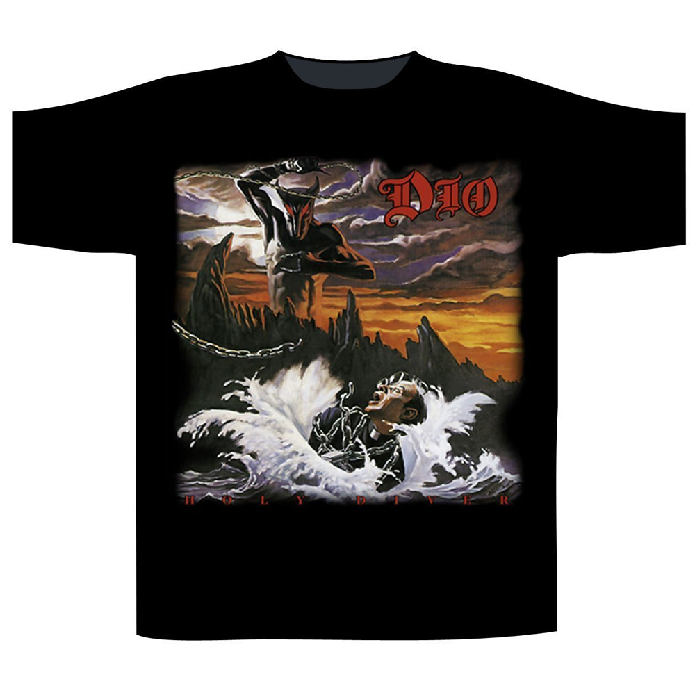 Dio - Holy Diver (with Back Print)