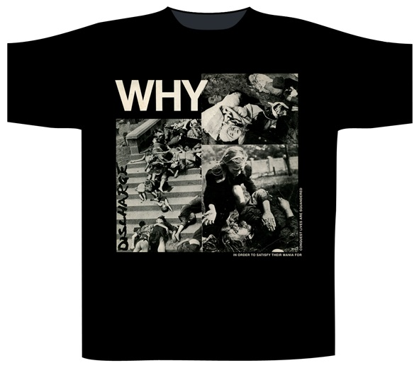 Discharge - Why (Black)