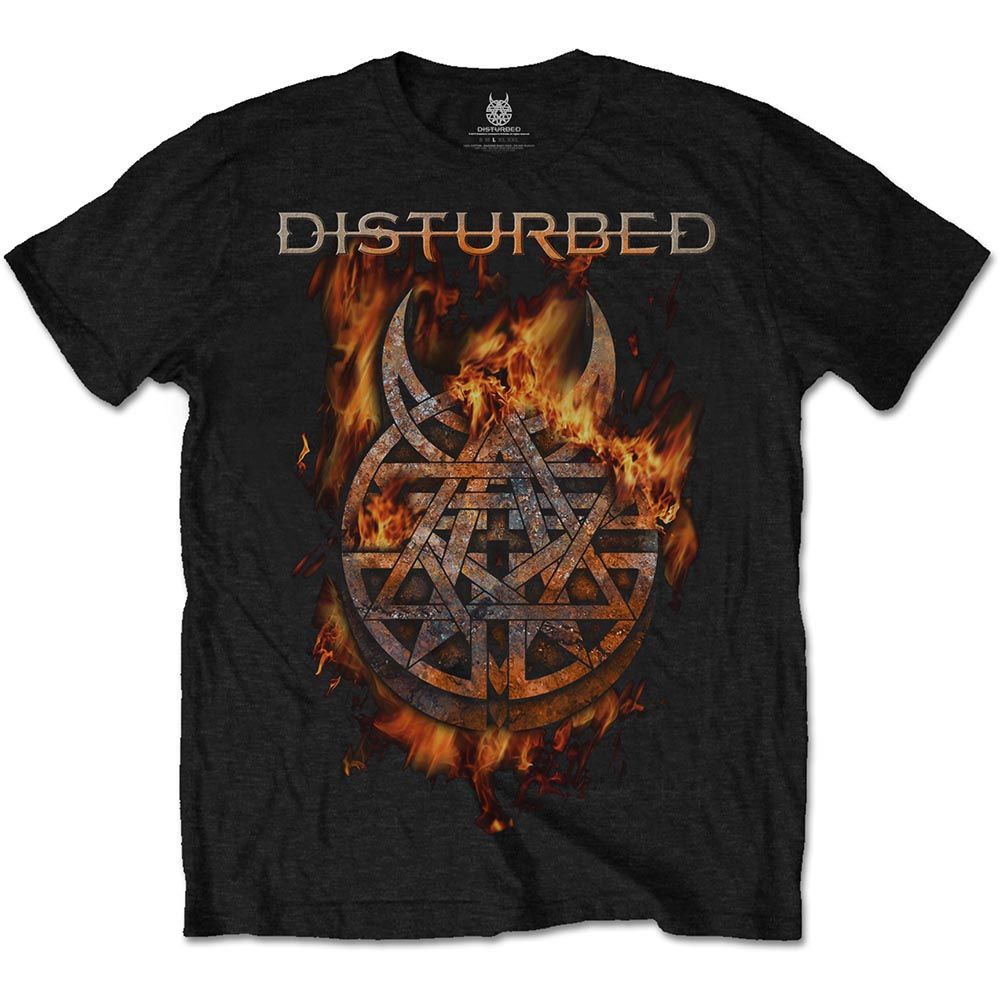 Disturbed - Burning Belief (Black)