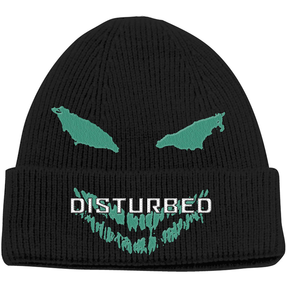 Disturbed - Green Face (Bean Hat)