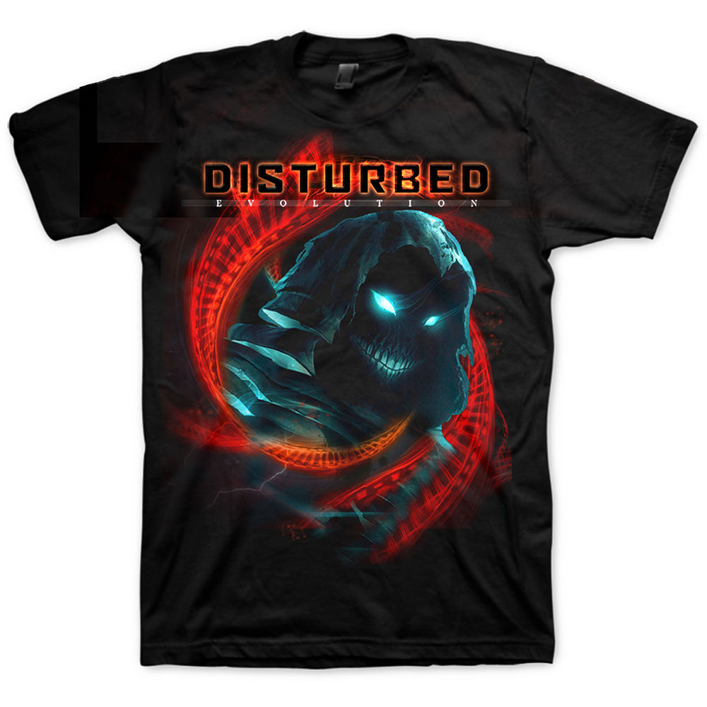 Disturbed - DNA Swirl Tee