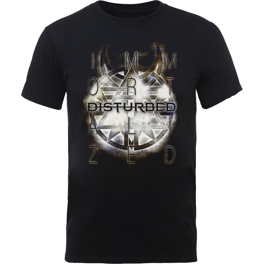 06aedc3d Stereoboard Merch | Symbol | Disturbed | T-Shirt