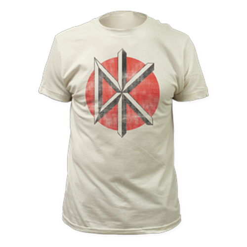 Dead Kennedys - Distressed Logo (Vintage White)