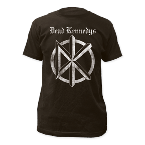 Dead Kennedys - Distressed Old English Logo (Coal)