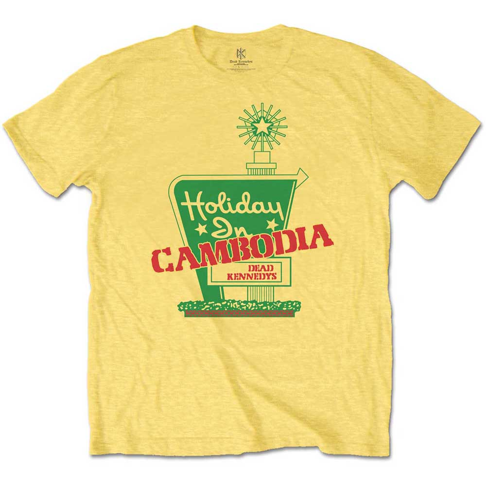Dead Kennedys - Holiday in Cambodia Tee