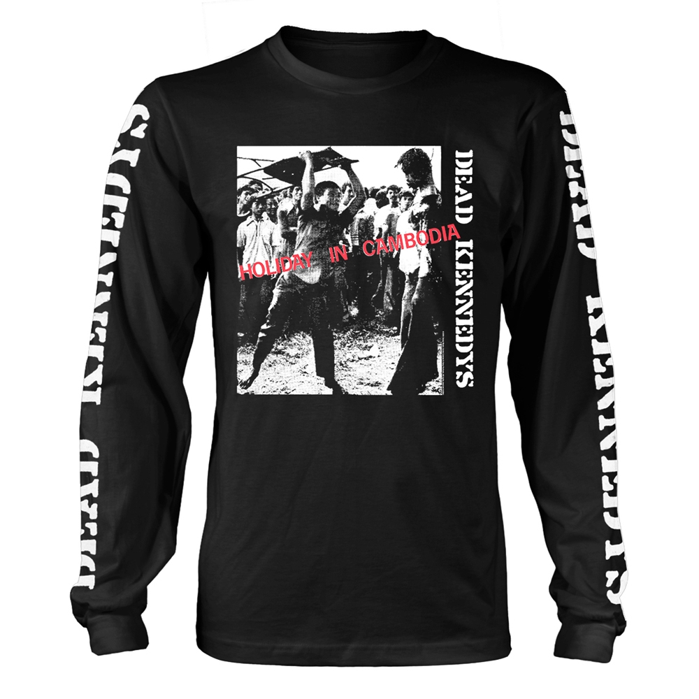 Dead Kennedys - Holiday In Cambodia (Longsleeve)