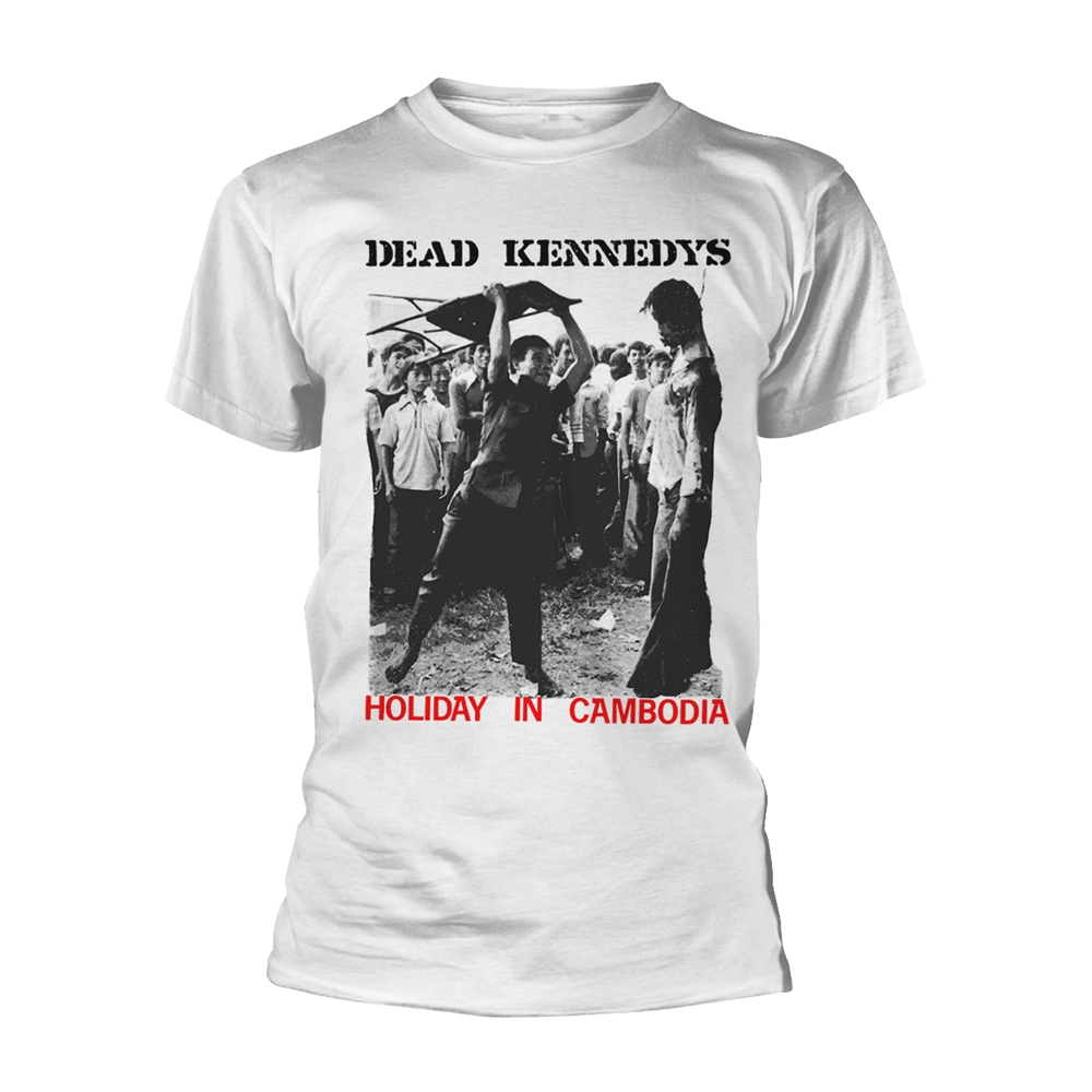 Dead Kennedys - Holiday In Cambodia (White)