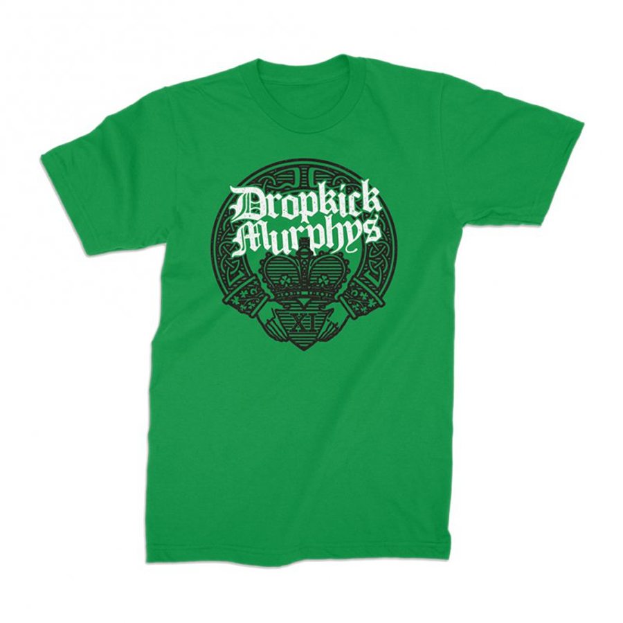 Dropkick Murphys - Claddagh Hands (Green)