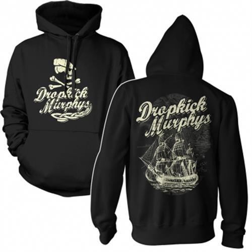 Dropkick Murphys - Scally Skull Ship (Black)