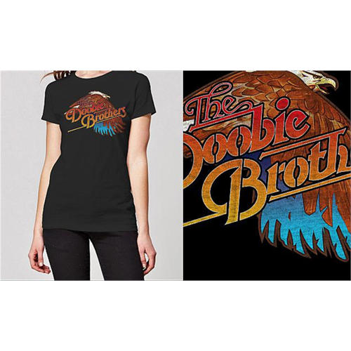 The Doobie Brothers - Eagle (Women's) (Black)