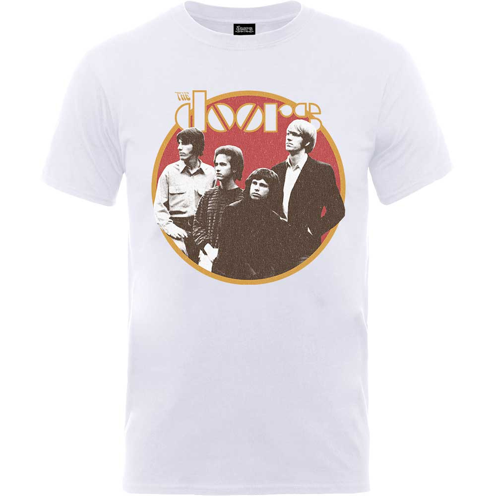 The Doors - Retro Circle (White)