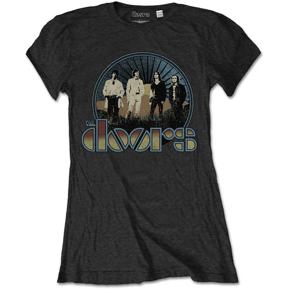 The Doors - Vintage Field (Black) (Women's)